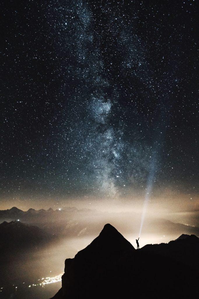 Der Kosmos, die Milchstrasse