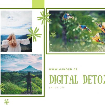 Digital DETOX: reboot, recharge and revitalise!